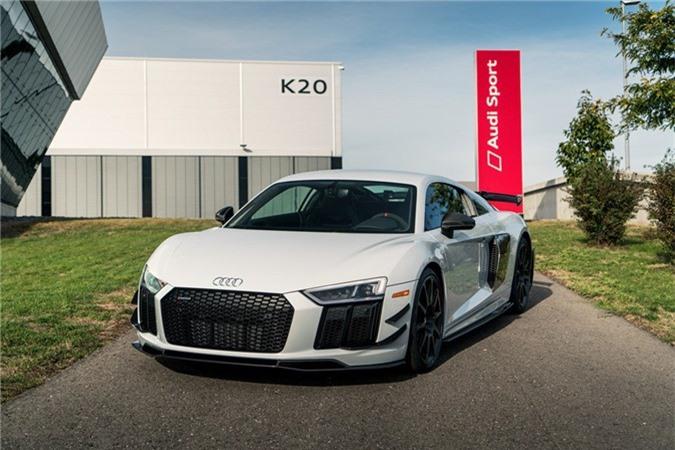 Audi R8 V10 hieu suat cao ra mat voi gioi han 10 chiec hinh anh 9