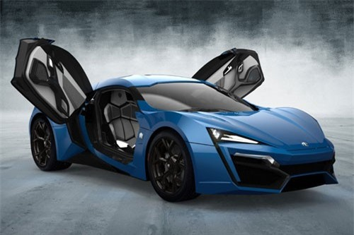9. W Motors Fenyr Supersport.