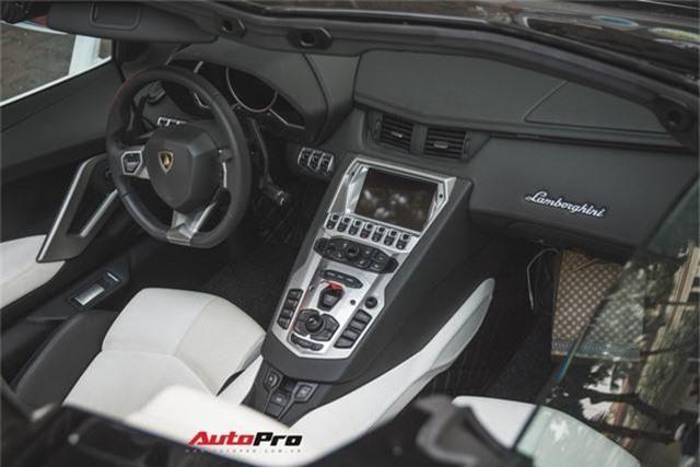 Lamborghini Aventador Roadster từng của Cường Đô-la lạ lẫm sau khi qua tay đại gia Hà thành - Ảnh 10.