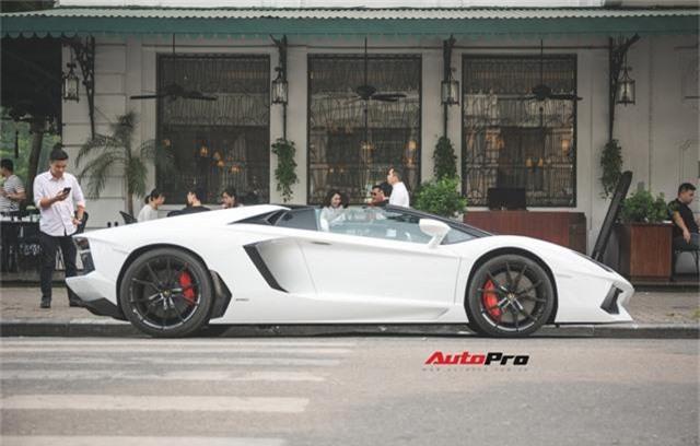 Lamborghini Aventador Roadster từng của Cường Đô-la lạ lẫm sau khi qua tay đại gia Hà thành - Ảnh 5.