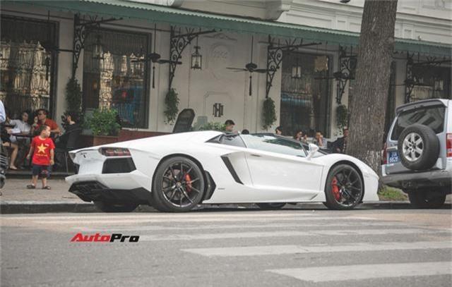 Lamborghini Aventador Roadster từng của Cường Đô-la lạ lẫm sau khi qua tay đại gia Hà thành - Ảnh 6.