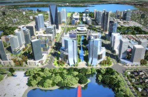 Không gian trong lành là một trong những nguyên nhân giúp bất động sản Hồ Tây tăng cao.