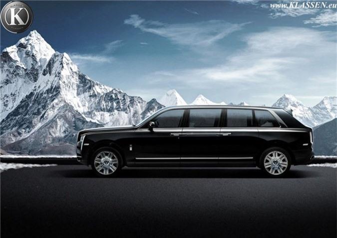 Muc so thi ban do Rolls-Royce Cullinan thanh limousine chong dan hinh anh 2