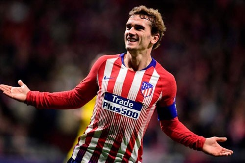 Tiền đạo cắm: Antoine Griezmann (Atletico Madrid, giá: 150 triệu euro).