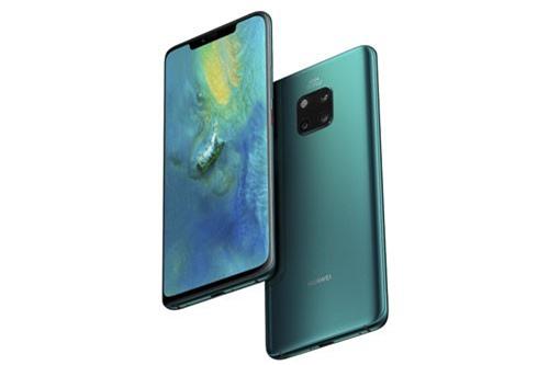 2. Huawei Mate 20 Pro (307.693 điểm).