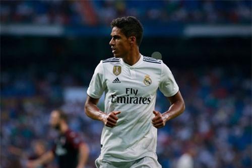 Trung vệ: Raphael Varane (Real Madrid, giá: 80 triệu euro).