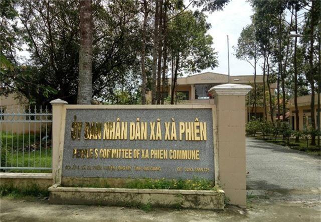 Xã Xà Phiên nơi ông H. công tác