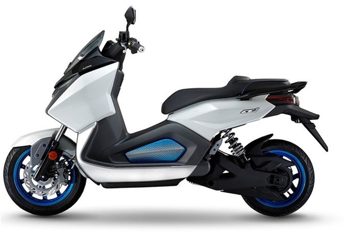 Xe tay ga chạy điện SYM EE1 có thể đạt vận tốc 130km/h ảnh 3