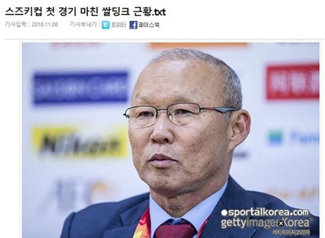 Báo Hàn Quốc dành sự quan tâm đặc biệt cho đội tuyển Việt Nam