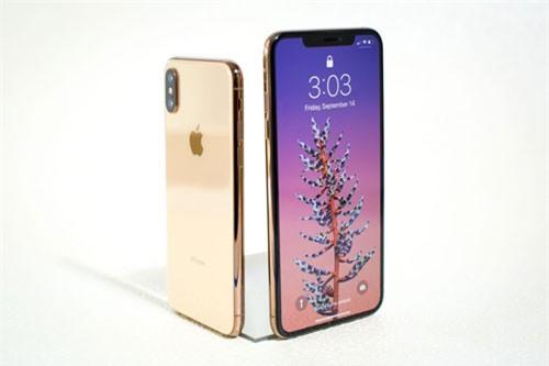 iPhone Xs và iPhone Xs Max (phải).