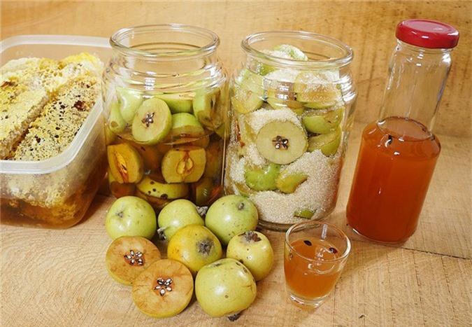 Giấm táo mật ong. Ảnh minh họa.