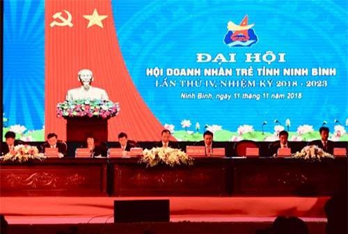Ông Lê Văn Toản tái đắc cử Chủ tịch Hội Doanh nhân trẻ Ninh Bình