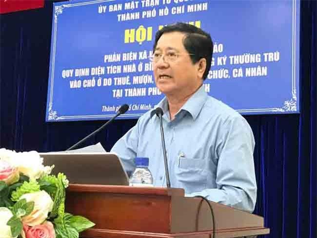 Luật sư Nguyễn Văn Hậu cho rằng, quy định tối thiểu 20m2/người là quá cao, ông đề xuất mức 15m2/người (ảnh LQ)