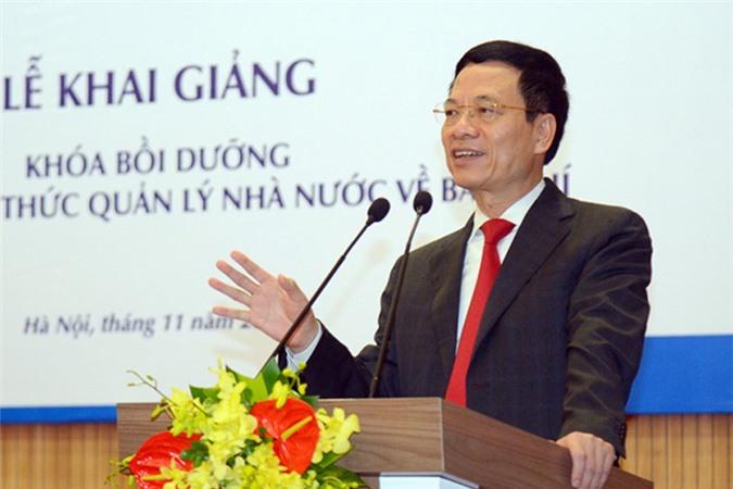 Bộ trưởng Nguyễn Mạnh Hùng: Tin có kiểm chứng là mảnh đất của báo chí