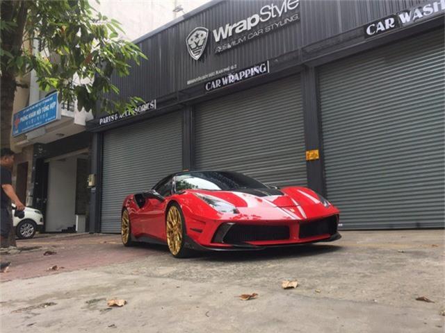 Dân chơi Sài Gòn nâng cấp Ferrari 488 GTB như siêu xe triệu đô LaFerrari - Ảnh 2.