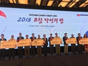 Doanh nghiệp Hàn Quốc vận động hơn 5 tỷ đồng hỗ trợ người khó khăn