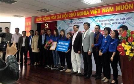 Lâm Đồng: Trao giải cuộc thi ý tưởng khởi nghiệp lần thứ I
