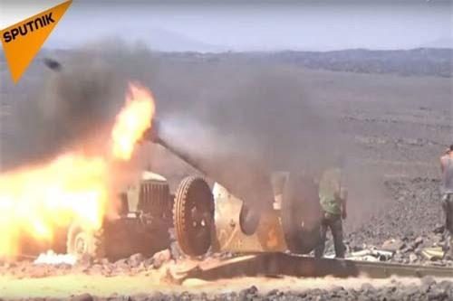 """Syria dội tên lửa trả đũa khủng bố ở """"chảo lửa"""" Idlib"""