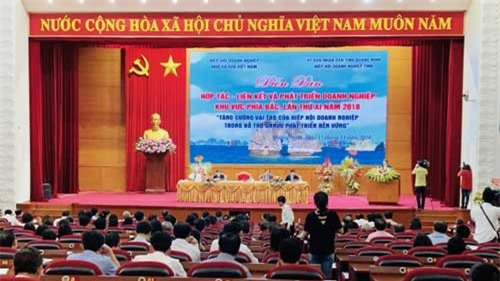 Diễn đàn Hợp tác, liên kết và phát triển doanh nghiệp khu vực phía bắc lần thứ XI