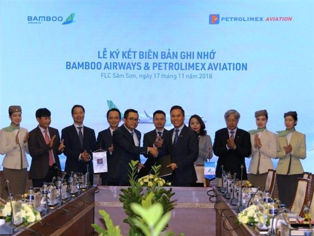 Petrolimex cam kết hỗ trợ, đồng hành cùng Bamboo Airways