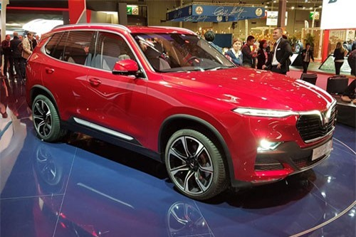 Giá lăn bánh xe SUV VinFast Lux SA2.0