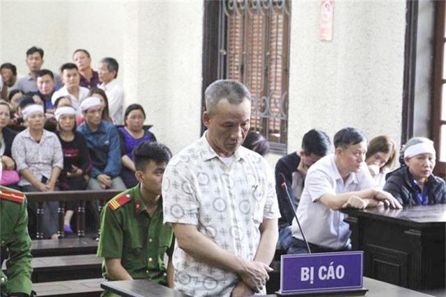 HĐXX tuyên án 20 năm tù đối với bị cáo Trịnh Tố Huynh (Ảnh: Đức Tùy).