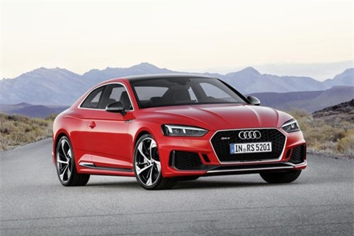 =4. Audi RS5 2019 (giá khởi điểm: 74.200 USD, thời gian tăng tốc từ 0-96 km/h: 3,7 giây).