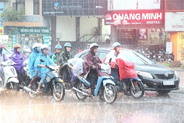 Ảnh hưởng không khí lạnh, miền Bắc mưa giông. (Ảnh minh họa: Nguyễn Dương).