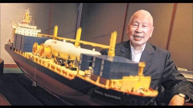 Tỷ phú Chang Yun Chung 100 tuổi với khối tài sản 1,8 tỷ USD. Ảnh: Forbes.
