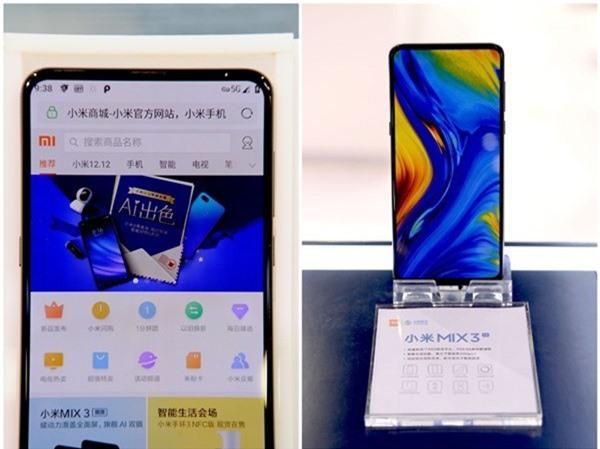 Xiaomi Mi Mix 3 5G sử dụng chip Snapdragon 855 và hỗ trợ kết nối mạng 5G