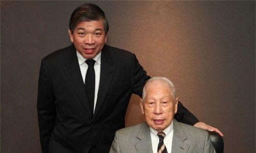 Hai cha con Chang Yun Chung. Ảnh:PIL.
