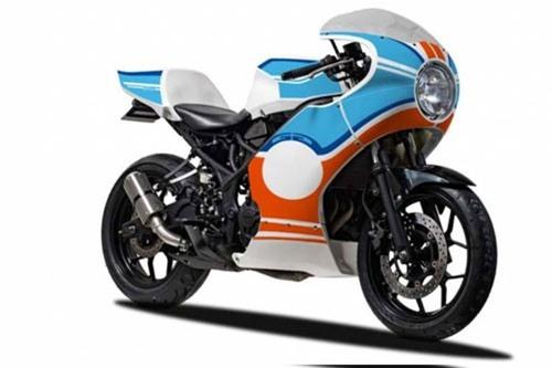 """""""Soi"""" Yamaha YZF-R25 độ Retro cực đẹp chỉ 28 triệu đồng"""