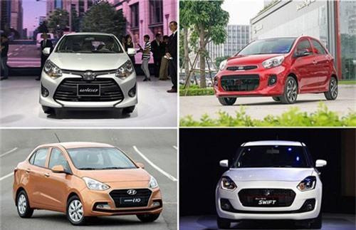 Grand i10, Morning, Wigo hay Swift - Cuộc chiến mới trên thị trường xe nhỏ. Mỗi xe đều có thế mạnh riêng, cũng như các trang thiết bị đi kèm với tiêu chí hoàn toàn khác biệt, tạo nên sự cạnh tranh sôi động cho phân khúc xe mini giá rẻ tại Việt Nam. (CHI TIẾT)