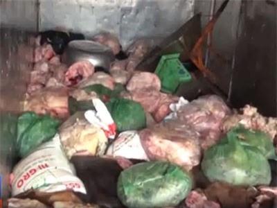 Clip: Xe chở 1.4 tấn da, mỡ động vật bị bắt tại Bình Phước