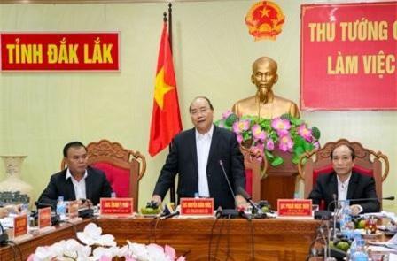 """Thủ tướng Nguyễn Xuân Phúc: Đắk Lắk có sẵn thế mạnh, còn thiếu """"quả đấm thép"""""""