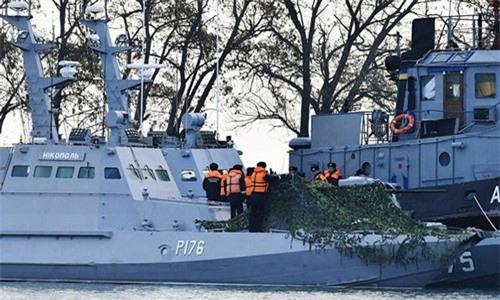 Moscow nói Ukraine từng dọa tấn công tàu Nga trên biển Azov