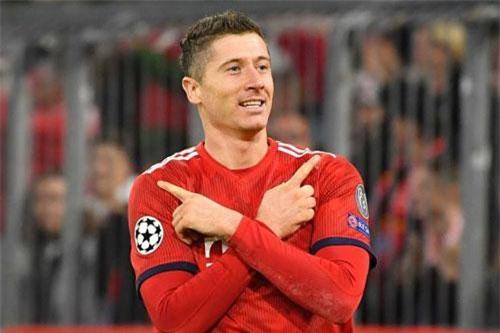 Tiền đạo: Robert Lewandowski (Bayern Munich).
