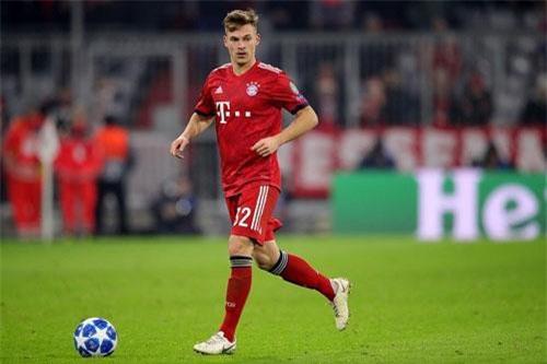 Hậu vệ phải: Joshua Kimmich (Bayern Munich).