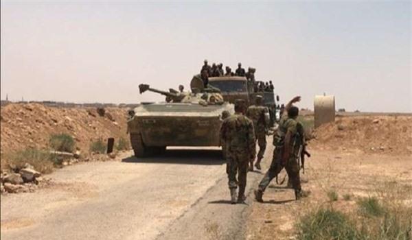 Khủng bố không dừng tấn công, quân đội Syria điều một loạt lính mới và vũ khí tới vùng đệm