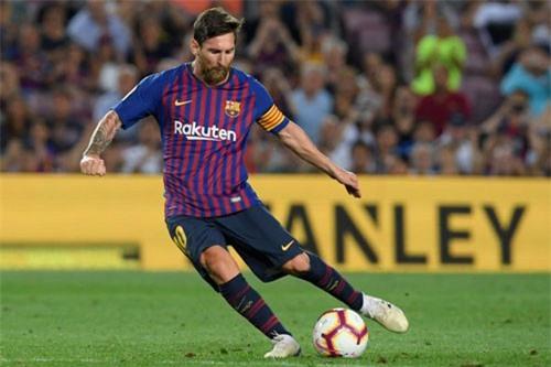 Tiền vệ tấn công: Lionel Messi (Barcelona).