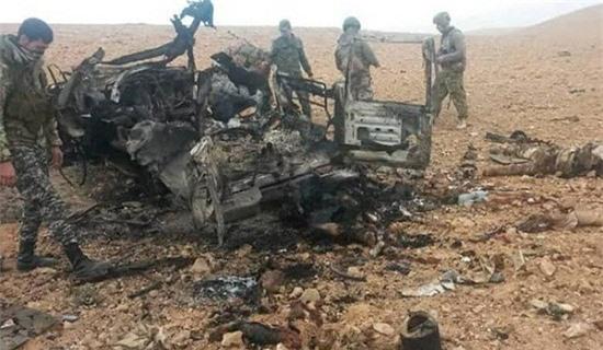 Quân đội Syria phá nát pháo đài khủng bố ở vùng đệm