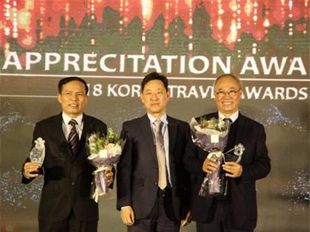 Lễ trao giải Du lịch Hàn Quốc 2018