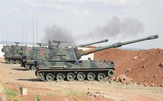 """Thổ Nhĩ Kỳ bất ngờ pháo kích quân đội Syria ở """"chảo lửa"""" Aleppo"""