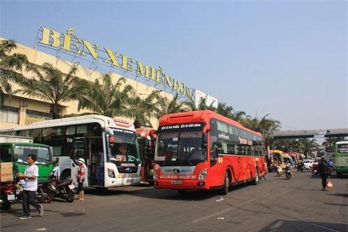 TP.HCM tăng thêm đầu xe bus phục vụ Tết Dương lịch 2019