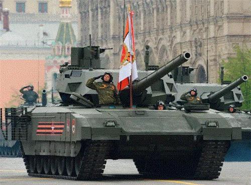 """Siêu tăng T-14 Armata """"bất tử"""" trên chiến trường"""