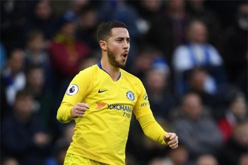 Đội hình tiêu biểu vòng 17 Premier League: Vinh danh Hazard