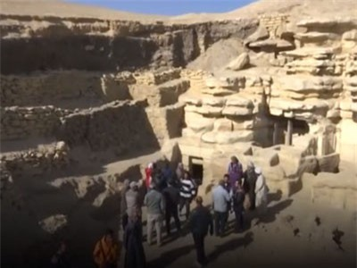 Clip: Phát hiện lăng mộ 4.400 năm ở Ai Cập còn nguyên vẹn