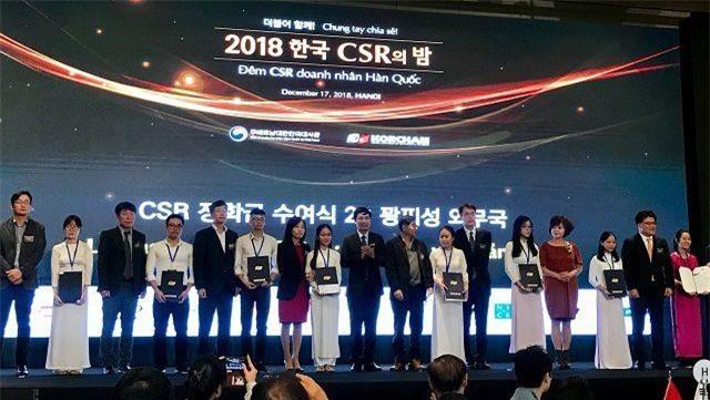 Doanh nghiệp Hàn Quốc trao 900 triệu đồng học bổng cho sinh viên Việt Nam