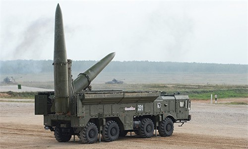 Nga bất ngờ tiết lộ việc tung tên lửa Iskander-M ra chiến trường Syria
