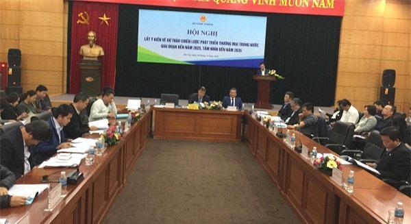 Lấy ý kiến về Dự thảo Chiến lược phát triển thương mại trong nước giai đoạn đến năm 2025